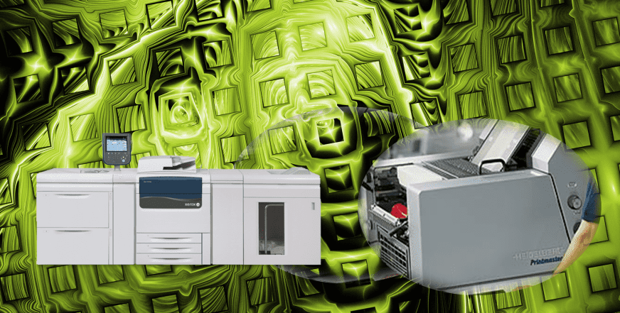 Hybrid Digital and Conventional Printing